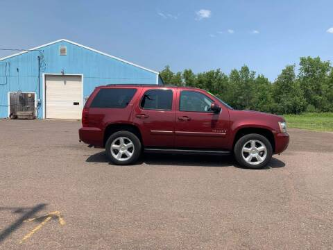 2008 Chevrolet Tahoe for sale at WB Auto Sales LLC in Barnum MN