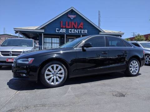2013 Audi A4 for sale at LUNA CAR CENTER in San Antonio TX
