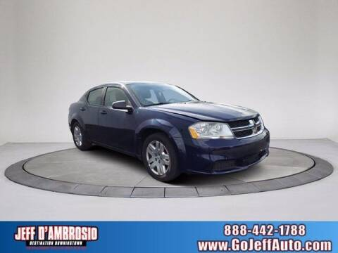 2013 Dodge Avenger for sale at Jeff D'Ambrosio Auto Group in Downingtown PA