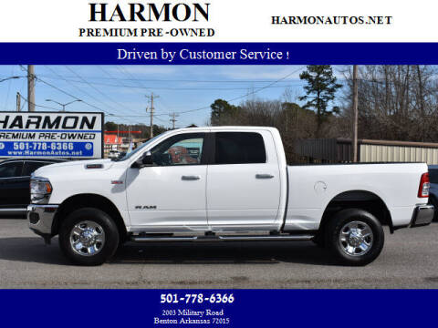 2019 RAM Ram Pickup 2500 for sale at Harmon Premium Pre-Owned in Benton AR