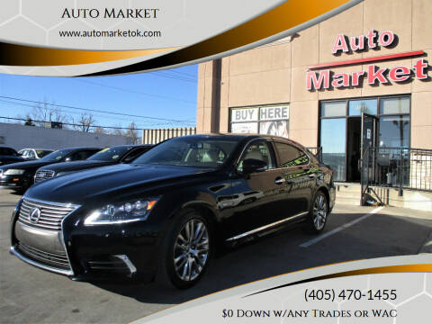 2013 Lexus LS 460 for sale at Auto Market in Oklahoma City OK