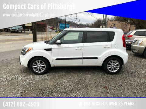 2013 Kia Soul for sale at Compact Cars of Pittsburgh in Pittsburgh PA