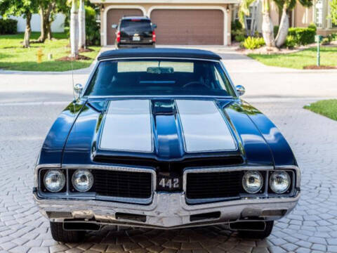 1969 Oldsmobile 442 for sale at Hines Auto Sales in Marlette MI