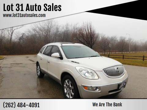 2010 Buick Enclave for sale at Lot 31 Auto Sales in Kenosha WI