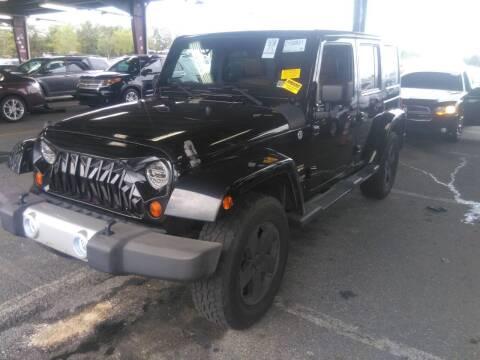 2012 Jeep Wrangler Unlimited for sale at DLUX Motorsports in Fredericksburg VA