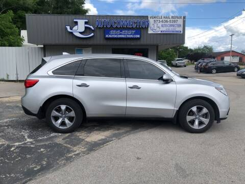 2014 Acura MDX for sale at JC AUTO CONNECTION LLC in Jefferson City MO
