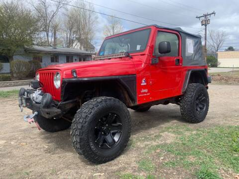 2003 Jeep Wrangler for sale at Connecticut Auto Wholesalers in Torrington CT