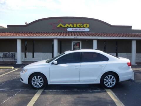 2013 Volkswagen Jetta for sale at AMIGO AUTO SALES in Kingsville TX