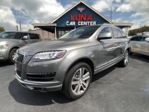 2014 Audi Q7 for sale at LUNA CAR CENTER in San Antonio TX