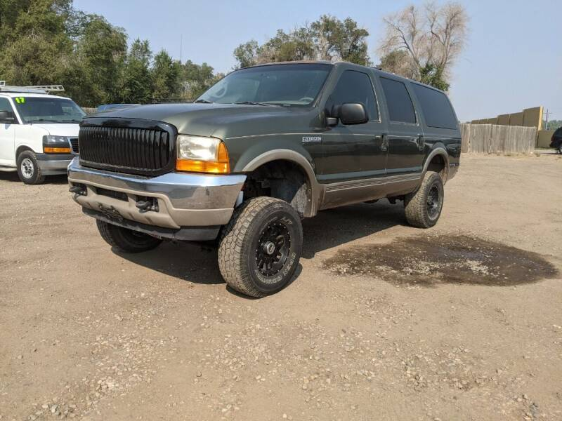 2000 Ford Excursion for sale at HORSEPOWER AUTO BROKERS in Fort Collins CO