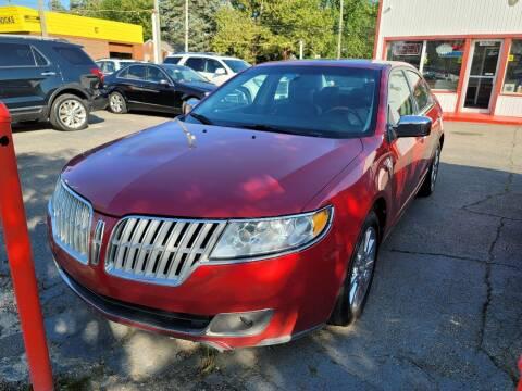 2010 Lincoln MKZ for sale at J & J Used Cars inc in Wayne MI
