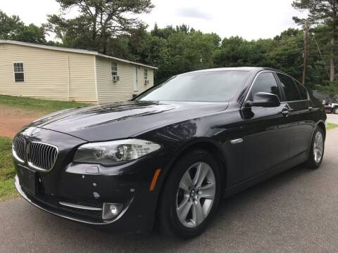 2013 BMW 5 Series for sale at ATLANTA AUTO WAY in Duluth GA