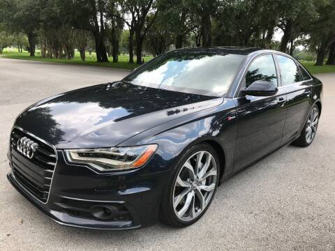 2013 Audi A6 for sale at ROADHOUSE AUTO SALES INC. in Tampa FL