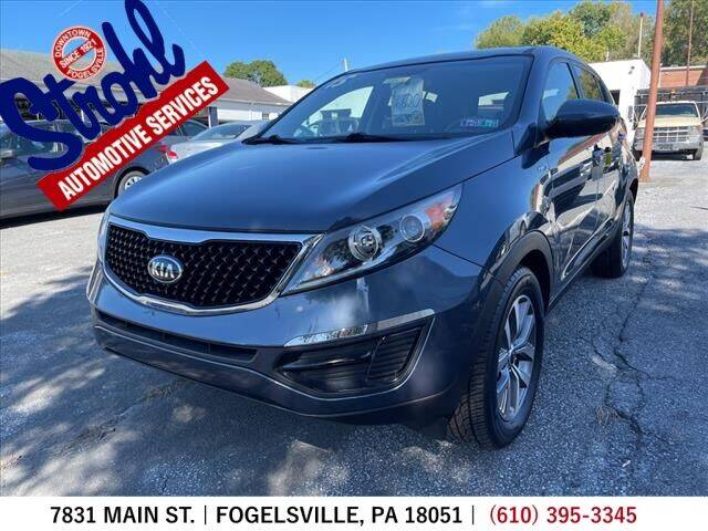 2015 Kia Sportage for sale at Strohl Automotive Services in Fogelsville PA