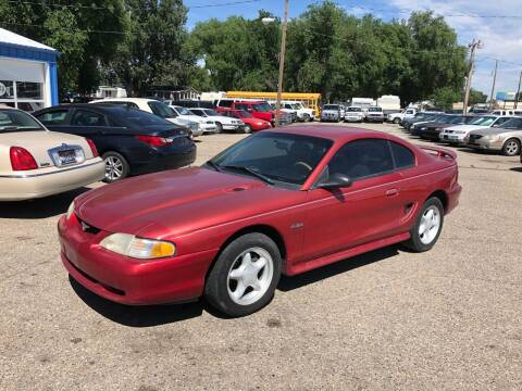1996 Ford Mustang for sale at AFFORDABLY PRICED CARS LLC in Mountain Home ID