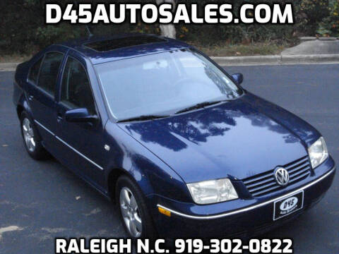 2004 Volkswagen Jetta for sale at D45 Auto Brokers in Raleigh NC