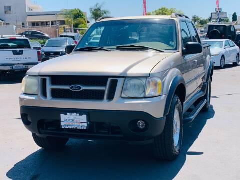 2001 Ford Explorer Sport Trac for sale at MotorMax in Lemon Grove CA