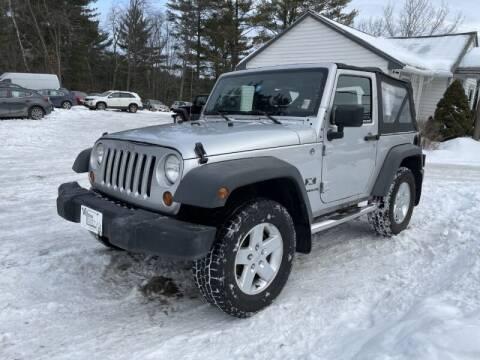 2008 Jeep Wrangler for sale at Williston Economy Motors in Williston VT