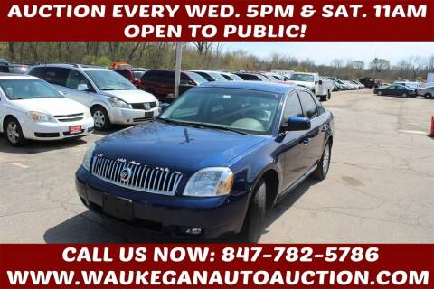 2006 Mercury Montego for sale at Waukegan Auto Auction in Waukegan IL