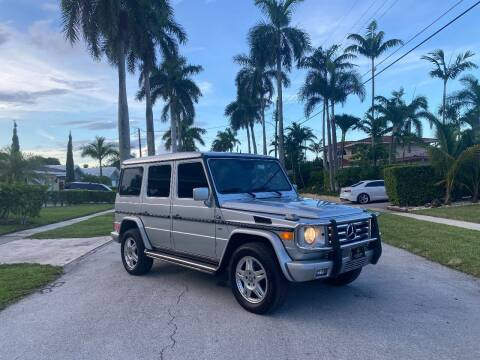 2002 Mercedes-Benz G-Class for sale at BIG BOY DIESELS in Fort Lauderdale FL