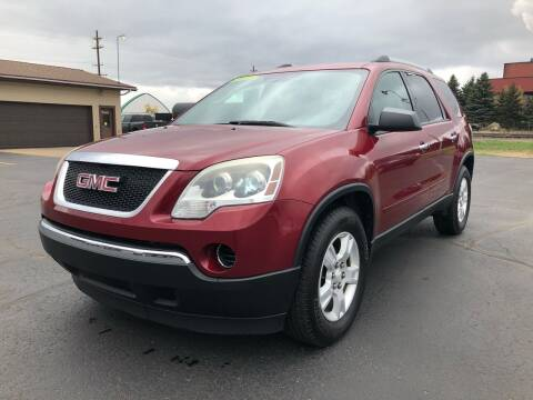 2010 GMC Acadia for sale at Mike's Budget Auto Sales in Cadillac MI