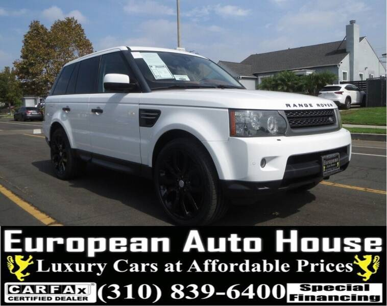 2011 Land Rover Range Rover Sport for sale at European Auto House in Los Angeles CA