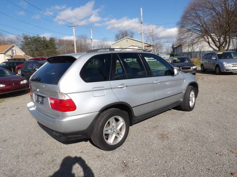 2002 BMW X5 for sale at English Autos in Grove City PA