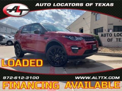 2016 Land Rover Discovery Sport for sale at AUTO LOCATORS OF TEXAS in Plano TX