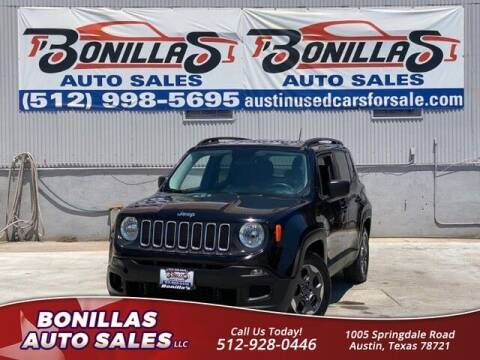 2016 Jeep Renegade for sale at Bonillas Auto Sales in Austin TX