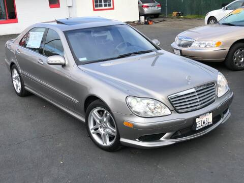 2004 Mercedes-Benz S-Class for sale at Redwood City Auto Sales in Redwood City CA