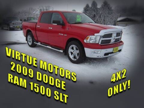 2009 Dodge Ram Pickup 1500 for sale at Virtue Motors in Darlington WI
