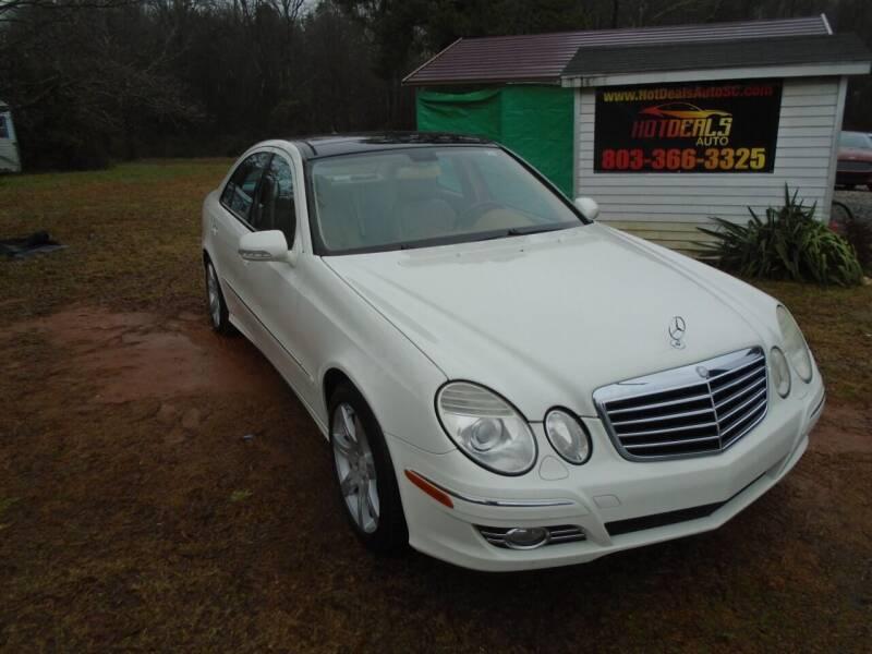 2008 Mercedes-Benz E-Class for sale at Hot Deals Auto LLC in Rock Hill SC