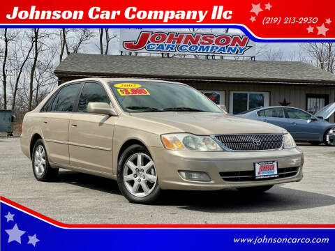 2002 Toyota Avalon for sale at Johnson Car Company llc in Crown Point IN
