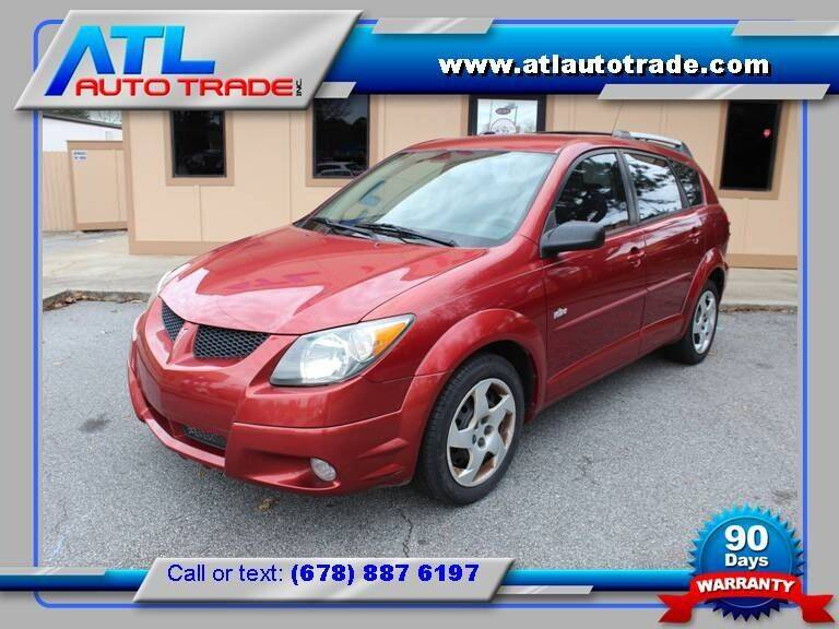 2004 Pontiac Vibe for sale at ATL Auto Trade, Inc. in Stone Mountain GA