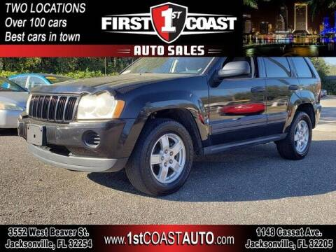 2005 Jeep Grand Cherokee for sale at 1st Coast Auto -Cassat Avenue in Jacksonville FL