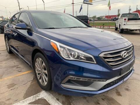2017 Hyundai Sonata for sale at JAVY AUTO SALES in Houston TX