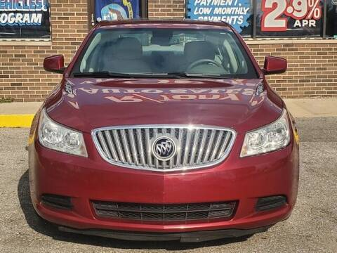 2011 Buick LaCrosse for sale at R Tony Auto Sales in Clinton Township MI