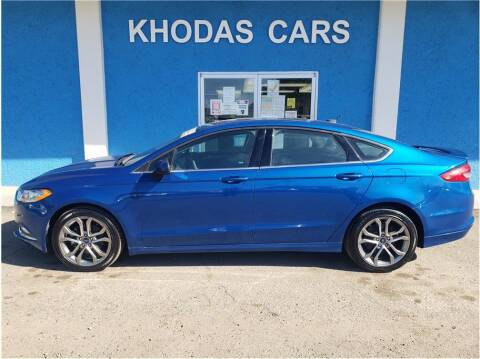 2017 Ford Fusion for sale at Khodas Cars in Gilroy CA