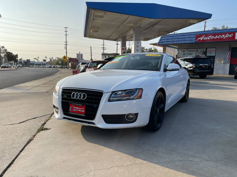 2009 Audi A5 for sale at Top Quality Auto Sales in Redlands CA