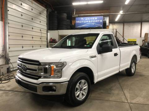 2019 Ford F-150 for sale at T James Motorsports in Gibsonia PA