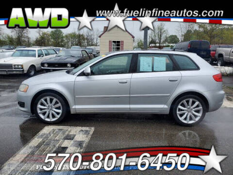 2009 Audi A3 for sale at FUELIN FINE AUTO SALES INC in Saylorsburg PA