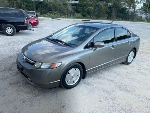 2008 Honda Civic for sale at Hwy 80 Auto Sales in Savannah GA