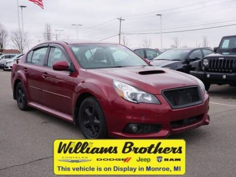 2013 Subaru Legacy for sale at Williams Brothers - Pre-Owned Monroe in Monroe MI
