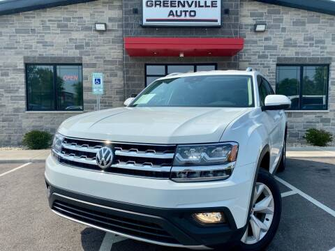 2018 Volkswagen Atlas for sale at GREENVILLE AUTO in Greenville WI