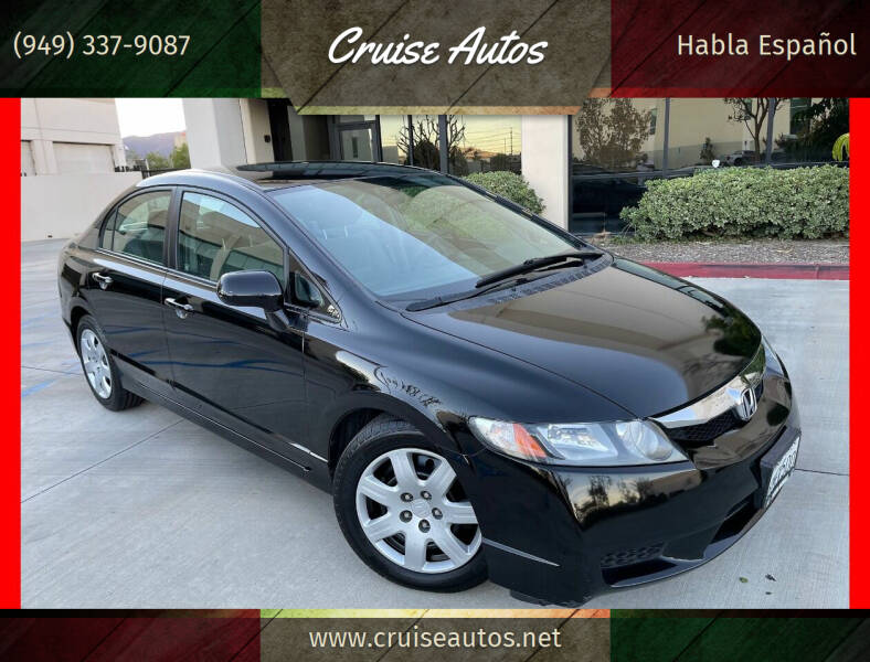 2010 Honda Civic for sale at Cruise Autos in Corona CA
