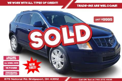 2010 Cadillac SRX for sale at Steel River Auto in Bridgeport OH