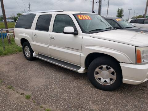 2006 Cadillac Escalade ESV for sale at Kull N Claude in Saint Cloud MN