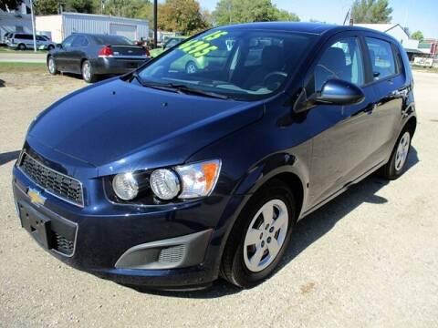 2015 Chevrolet Sonic for sale at Northeast Iowa Auto Sales in Hazleton IA