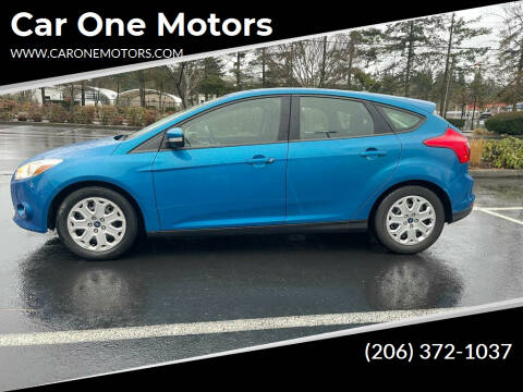 2012 Ford Focus for sale at Car One Motors in Seattle WA