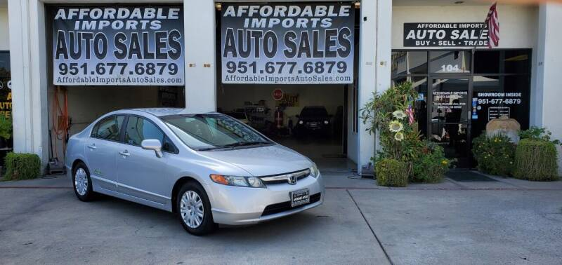 2008 Honda Civic for sale at Affordable Imports Auto Sales in Murrieta CA